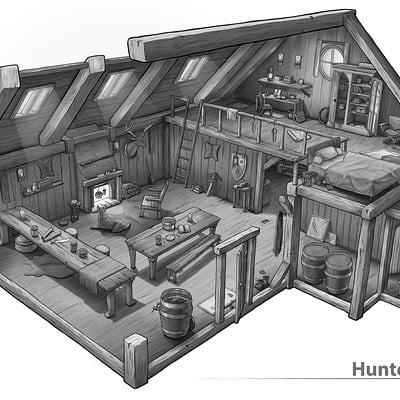 Dennis kessel final hunter cabin