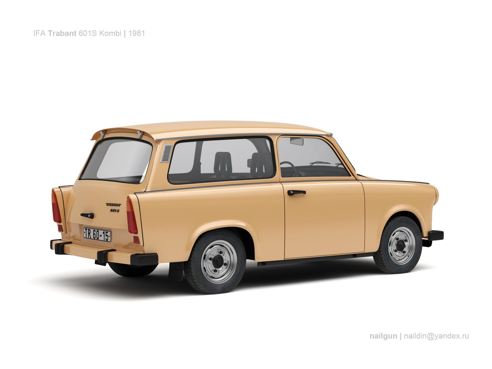 Nail khusnutdinov sw trabant 601s kombi 1