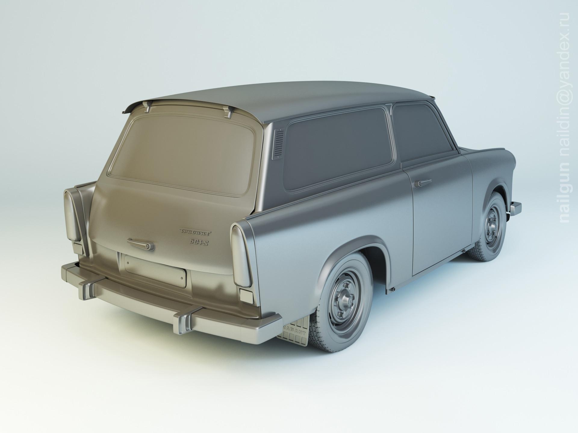 Nail khusnutdinov pwc 023 004 trabant 601 combi modelling 1