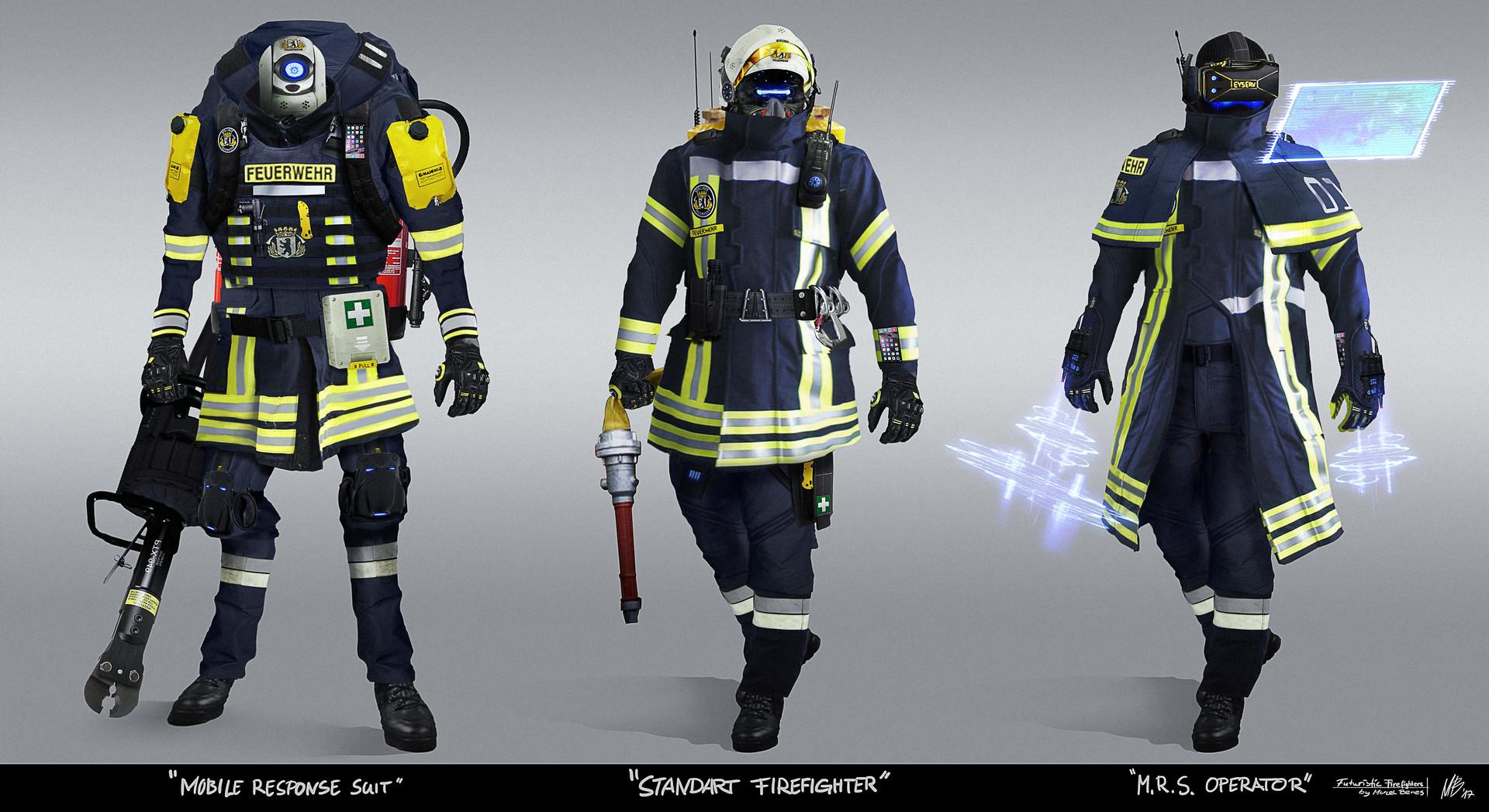 Marcel benes firefighters