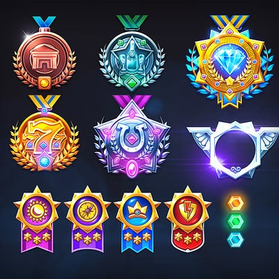 Badges & Medals
