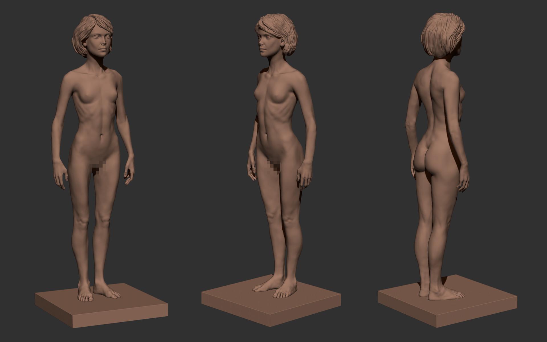 Ilhan yilmaz female anatomy study 04