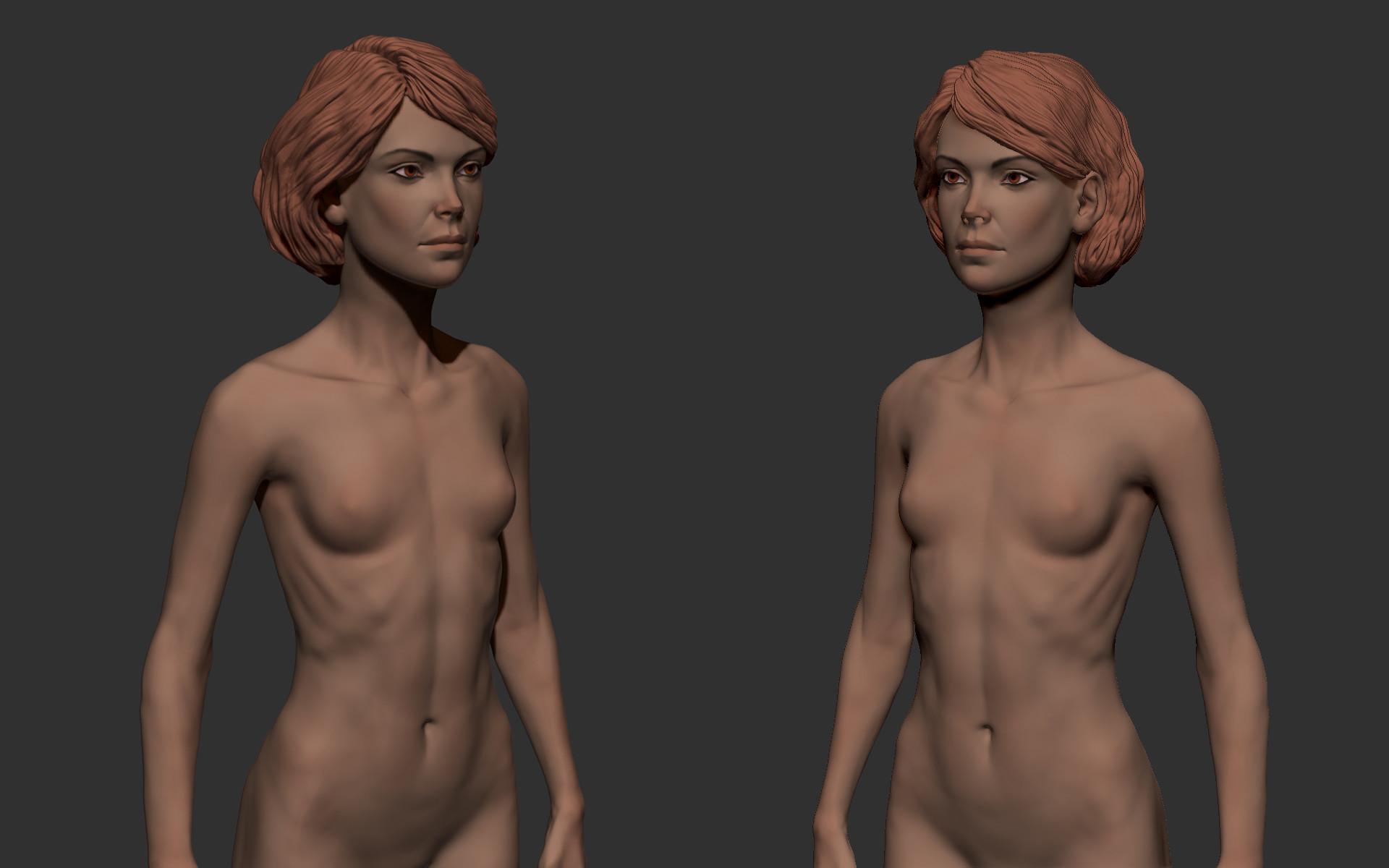Ilhan yilmaz female anatomy study 02