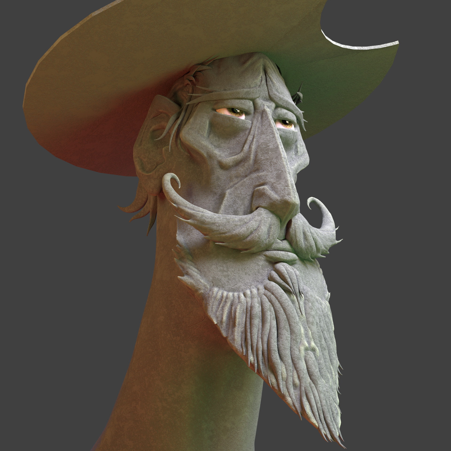 Concept, El Quijote by @JonSommariva