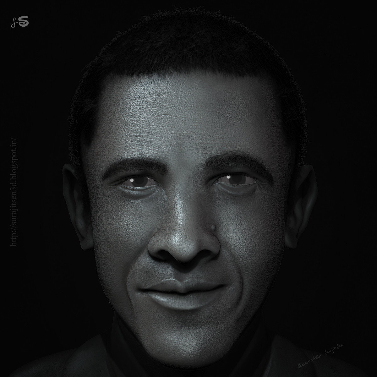 My recent R & D work-a real-time CG Character. Wish to share with you.. :)