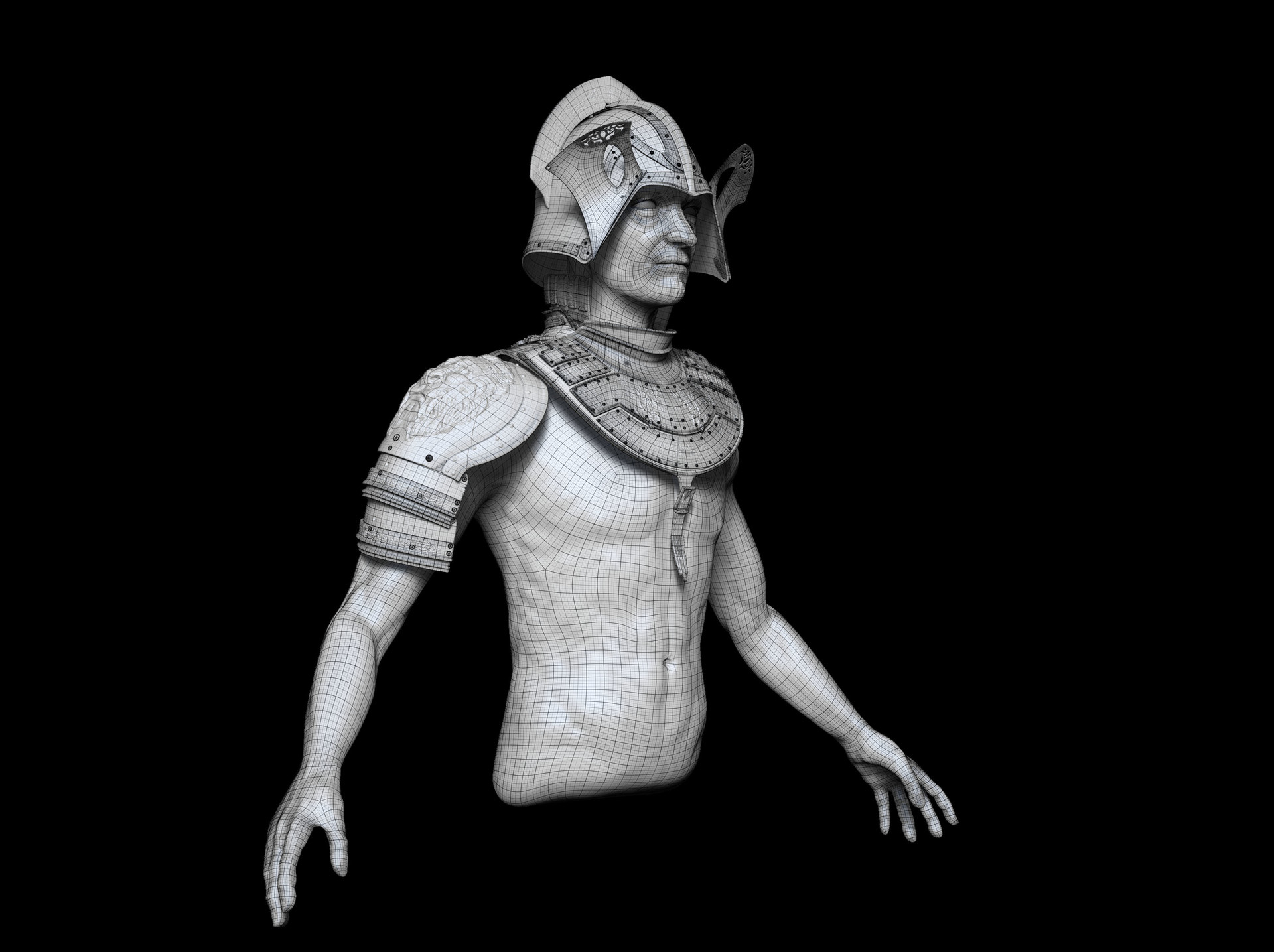 Van Damme Jakob - Lannister armor and torso study