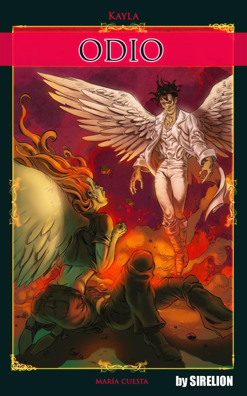Sergio cabanillas ilustrador valencia kayla portada libro sirelion cover sergio cabanillas