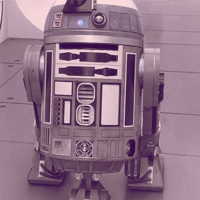 Paul wiz johnson starwars r2q2