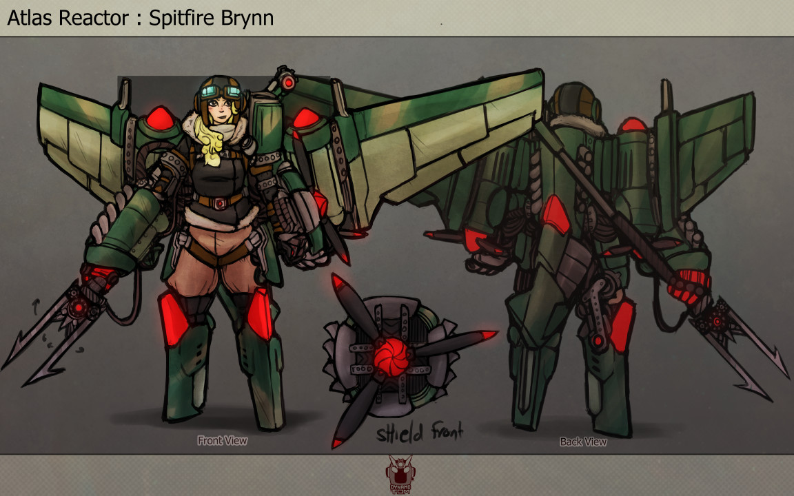 Tom salmon 2017 lancer skin ideas spitfire brynn