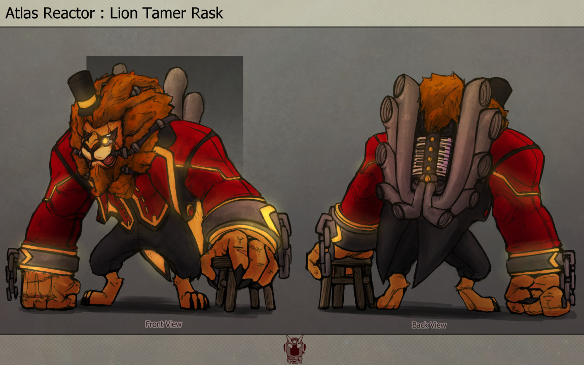 Tom salmon 2017 lancer skin ideas lion tamer rask