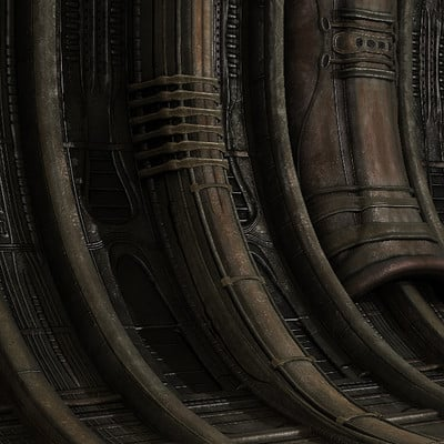Aliens Colonial Marines - Derelict Ship Hallway - 2012