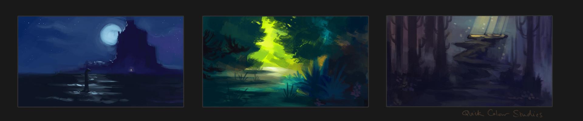 Monica ion quick colour studies