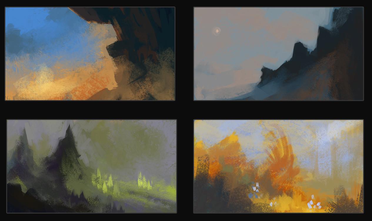 Monica ion quick colour studies 02