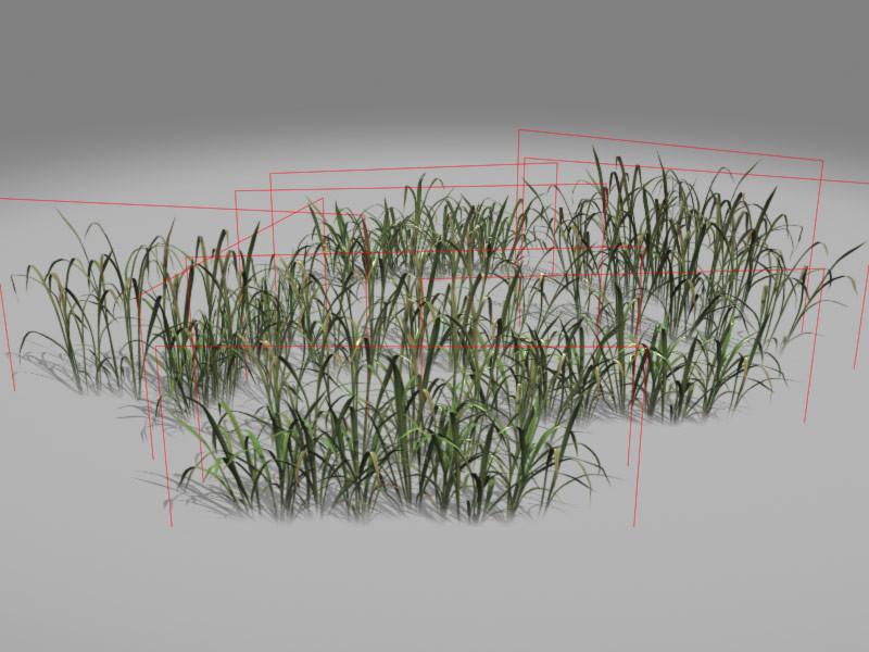 Jeremy h brown grass render wire