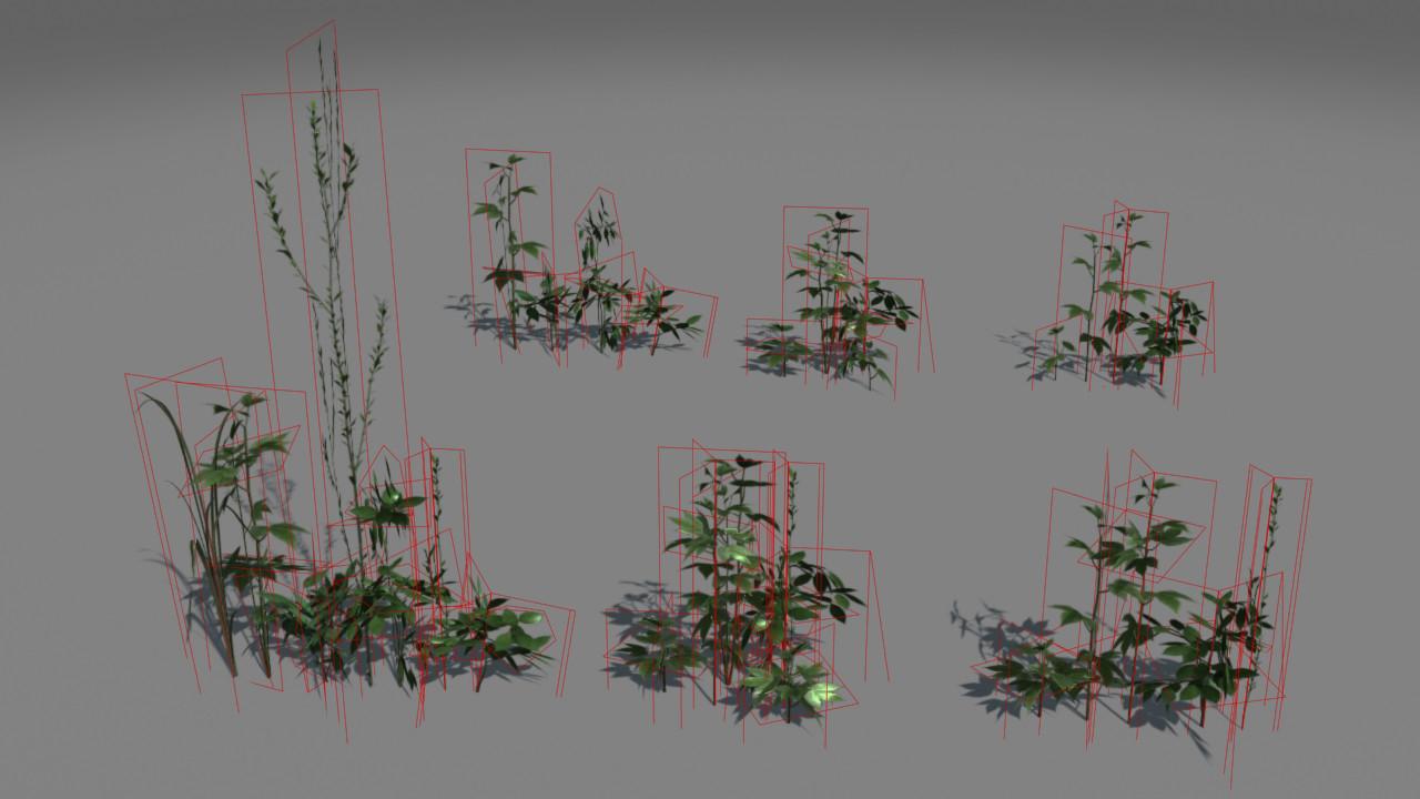 Jeremy h brown weeds render lods wire