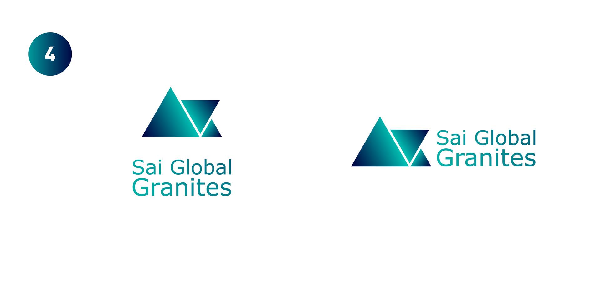 ArtStation - Sai Global Granites Logo, Gopalkrishnan R