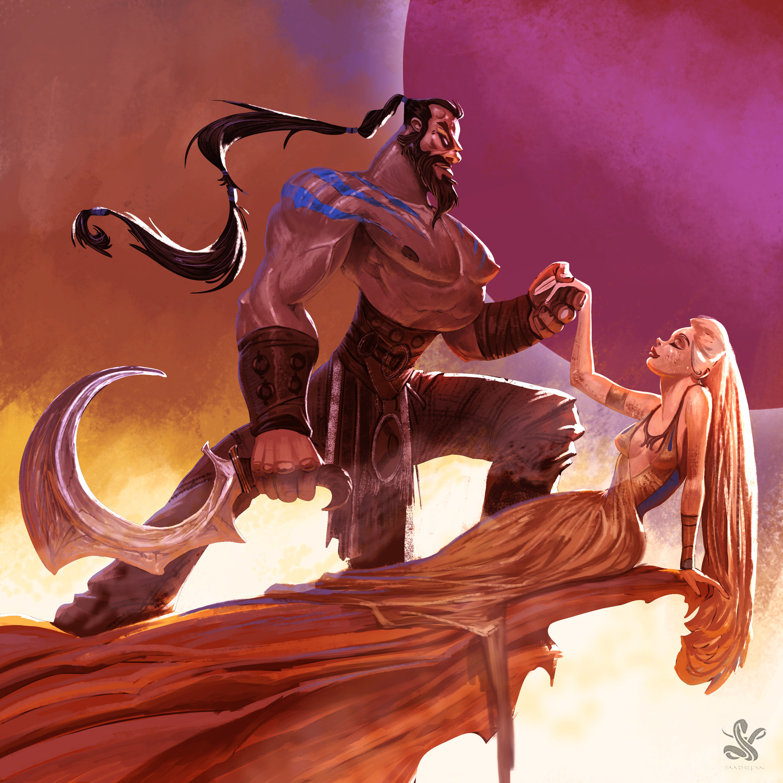 the drogo and the drogon queen