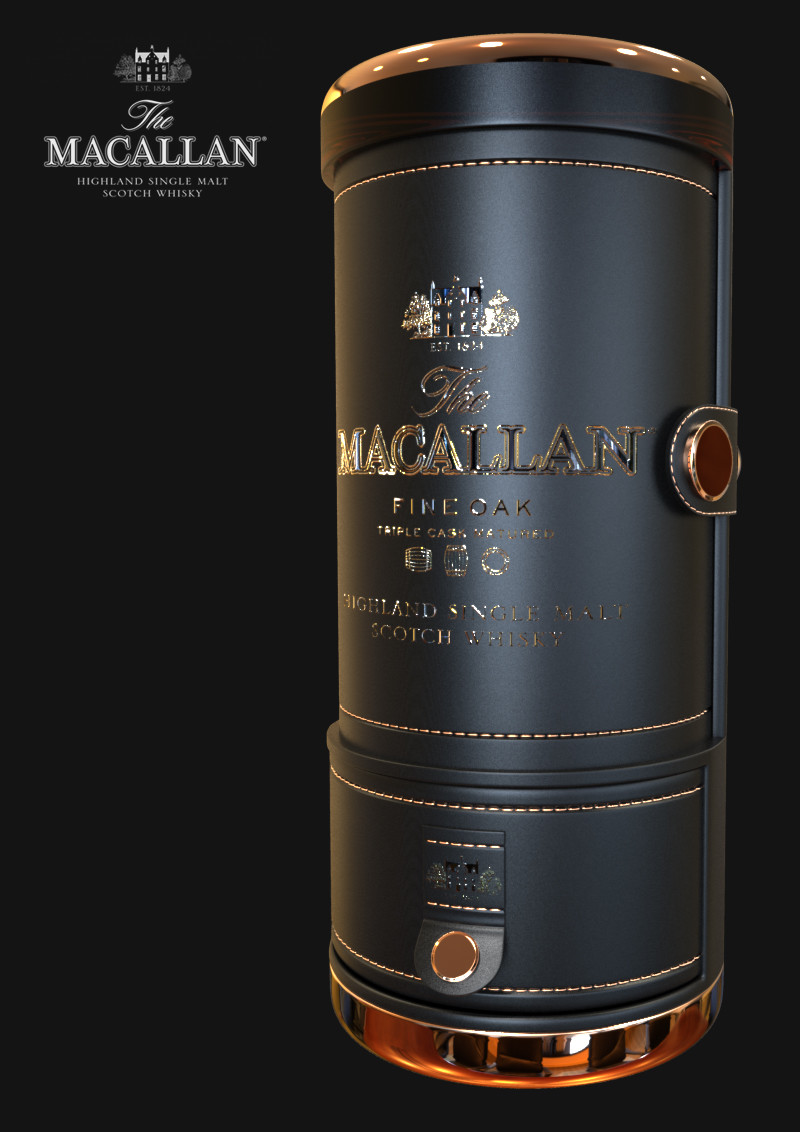 Callum whitehex macallan tube closed right
