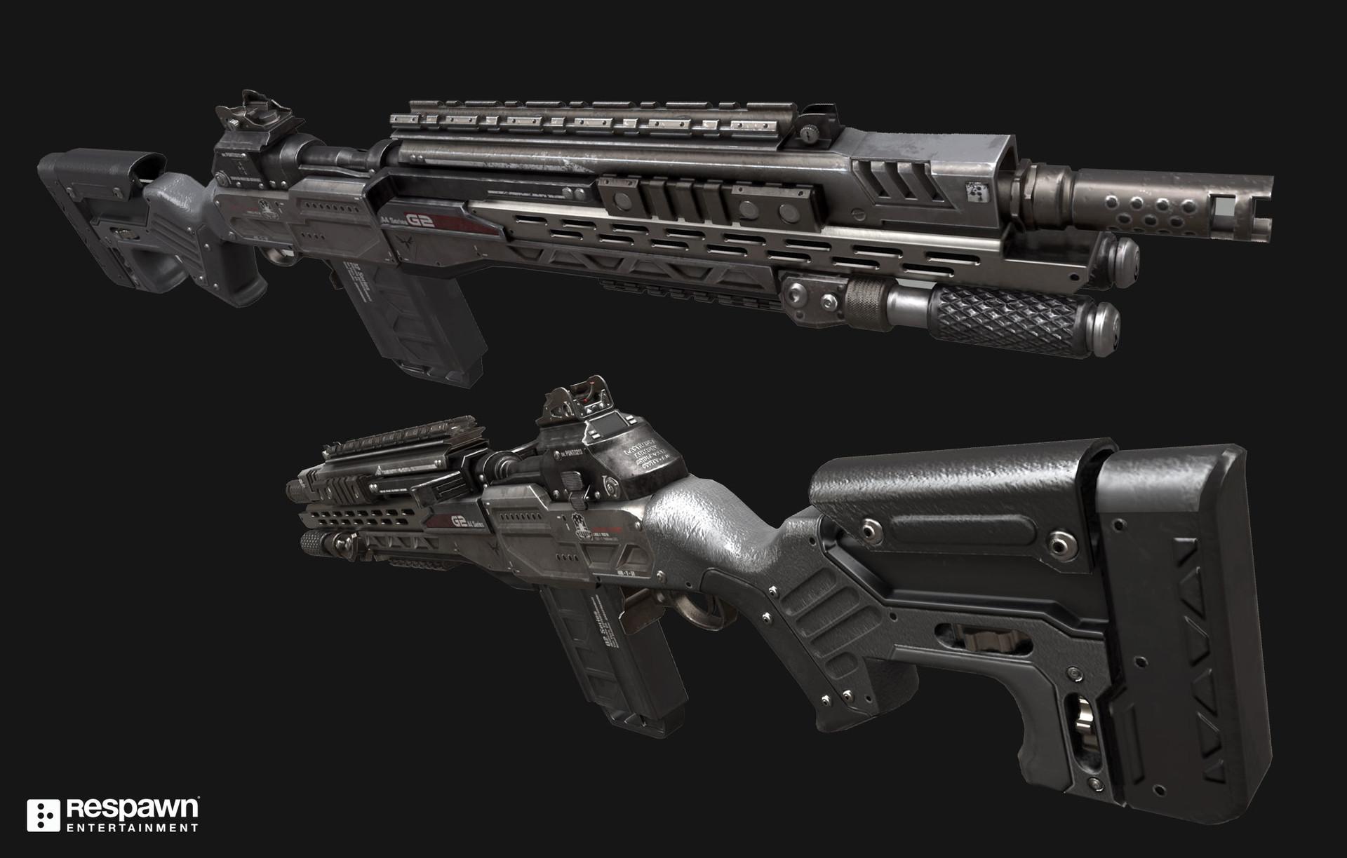 Ryan Lastimosa - Titanfall 2 G2A5 Battle Rifle