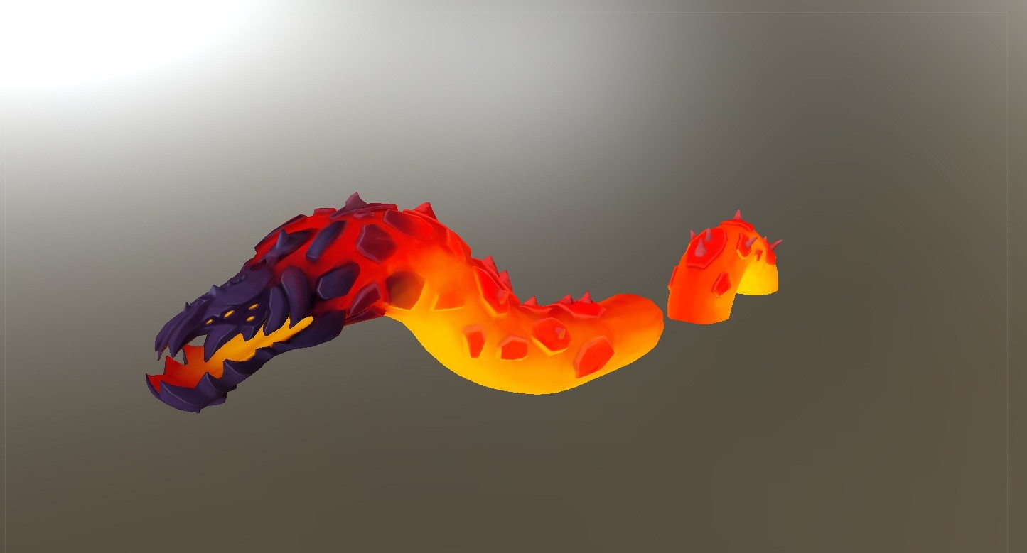 Low Poly Painted
