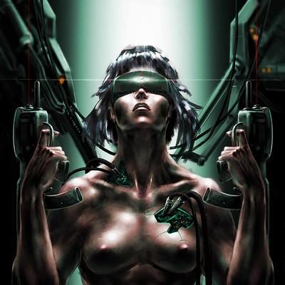 Atom cyber sentient machines