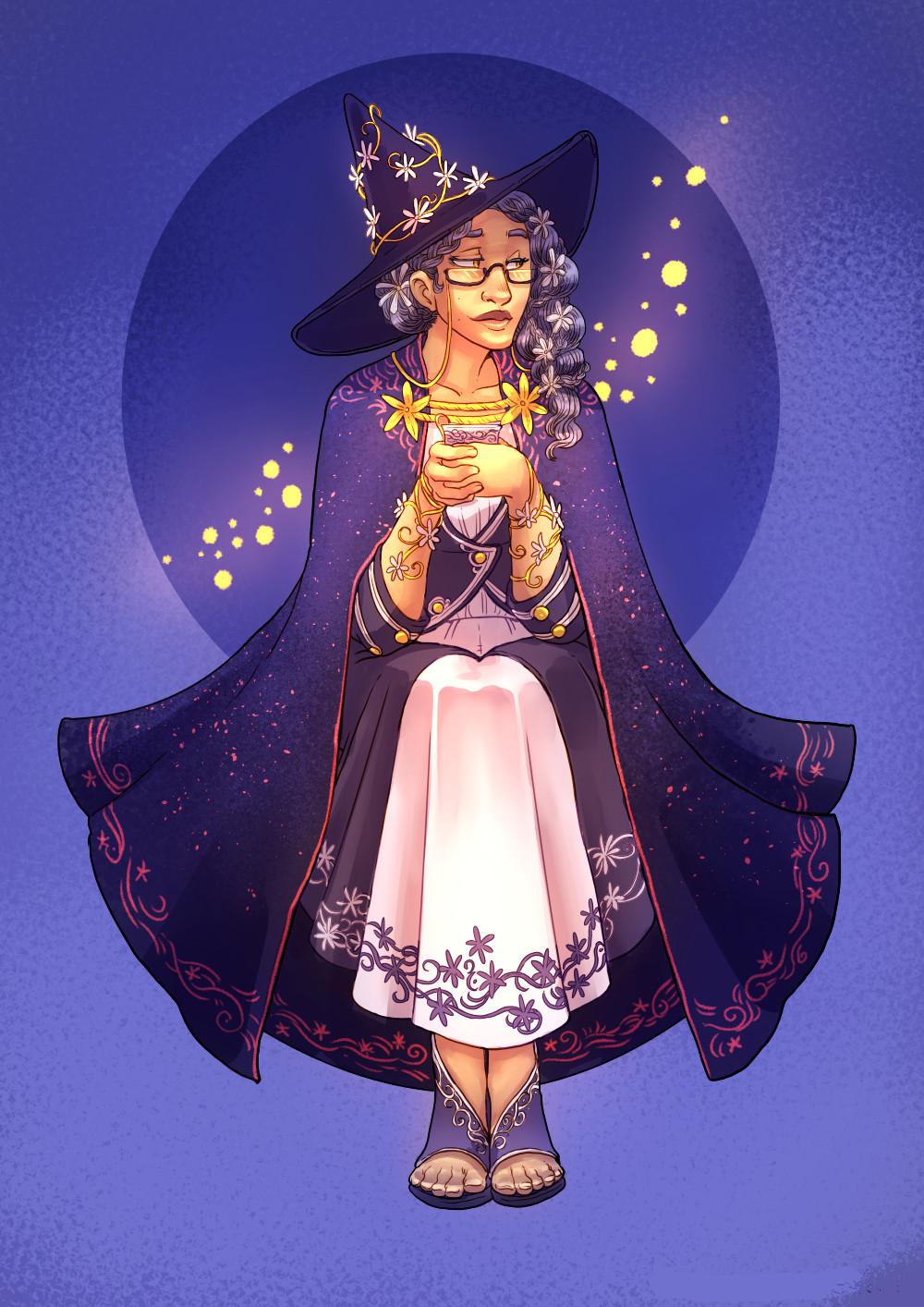 Tea Witch #43 - Jasmine, final