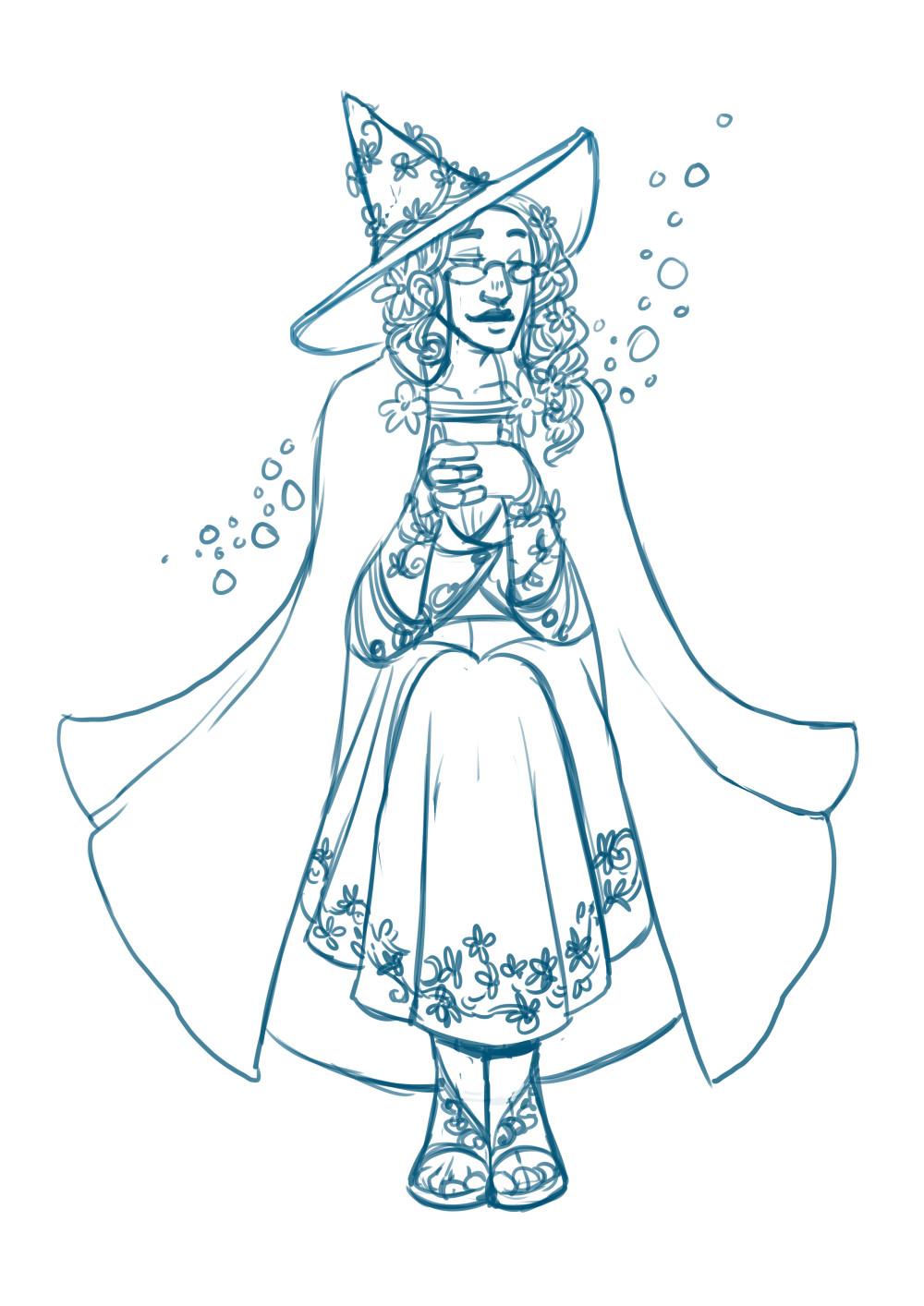 Anna landin jasmine sketch