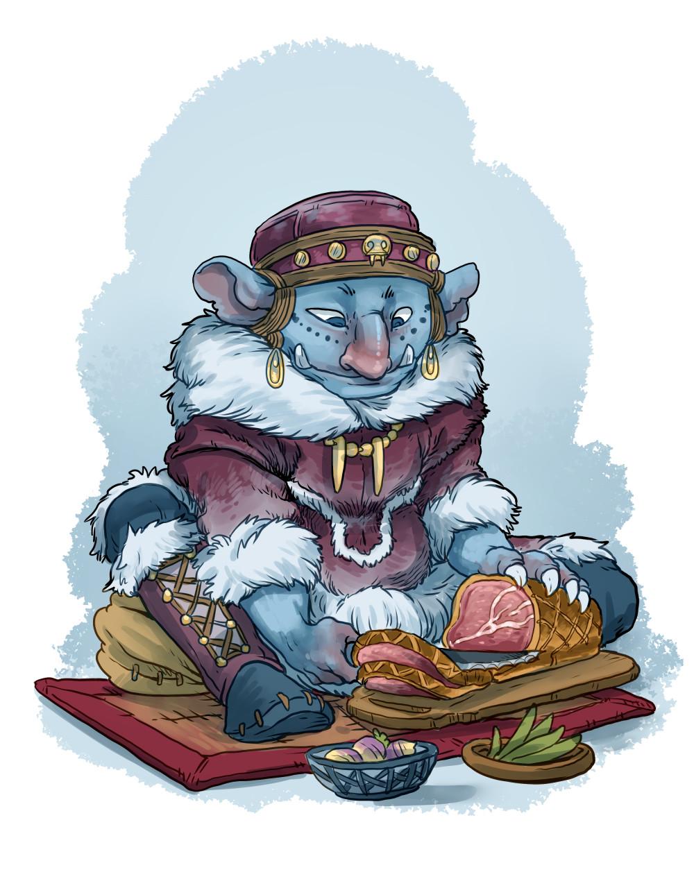 Arctic goblin cook