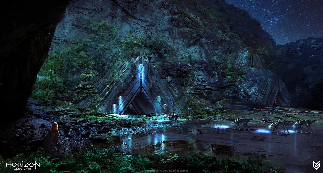 Lloyd allan cauldron entrance night