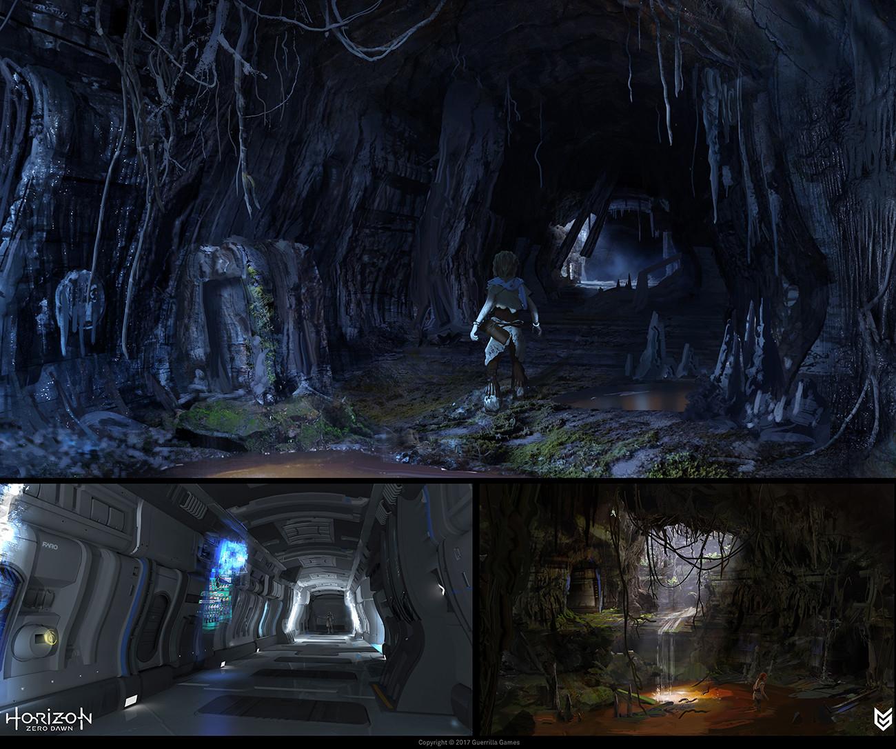 Lloyd allan hrz bunker hallway concepts lloyd allan