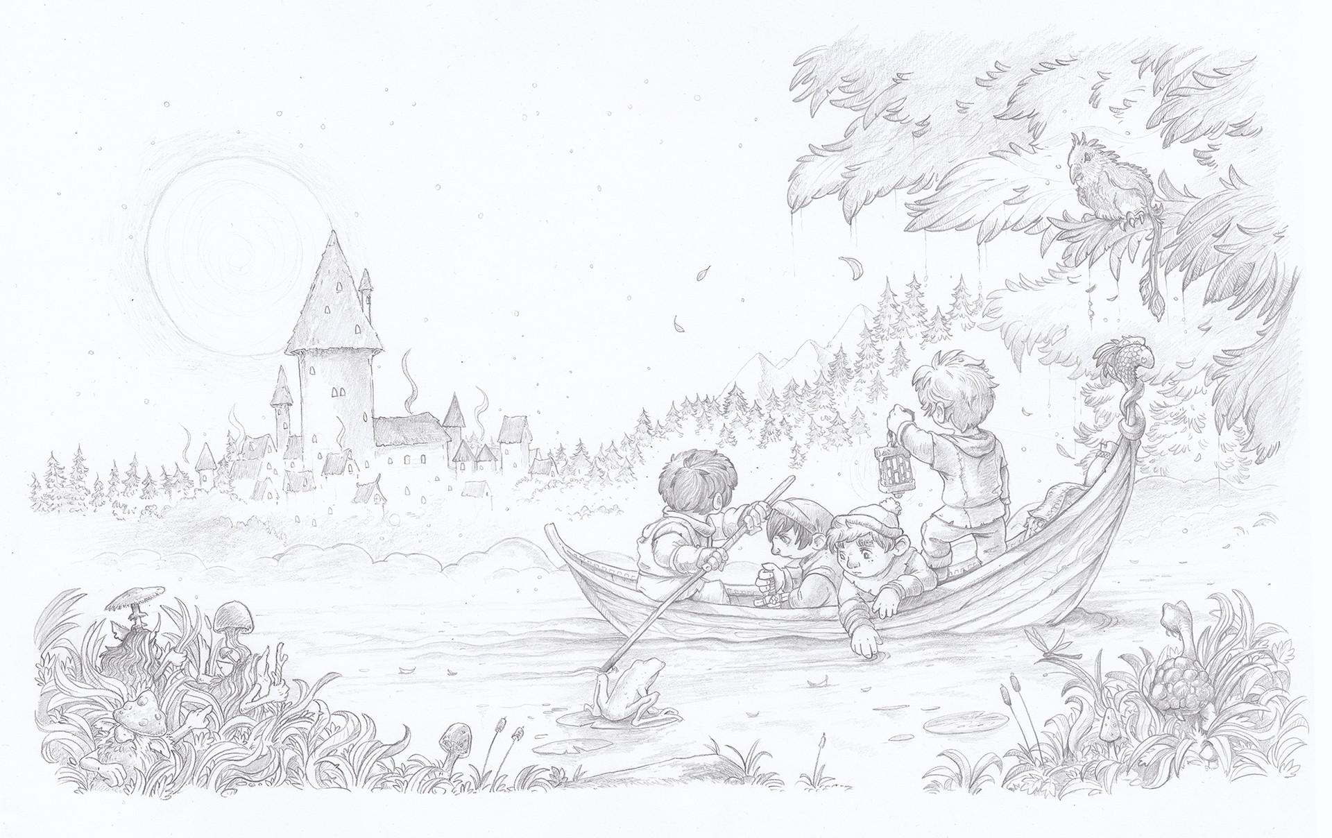 Kamil murzyn miastoswitlikow drawing