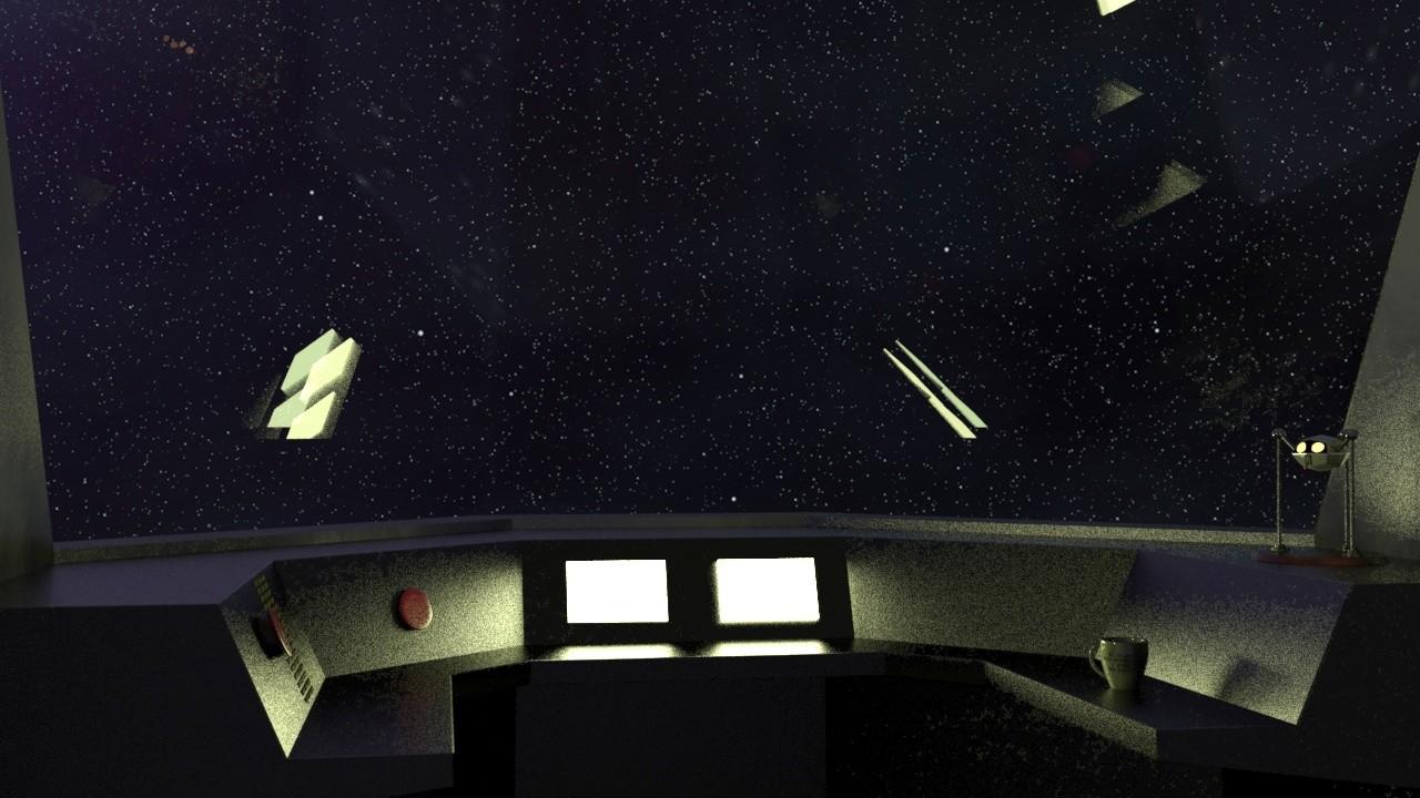 ArtStation - 3D Cockpit, Craig Palmer