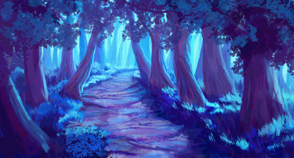Nick chrissis forest path pixel