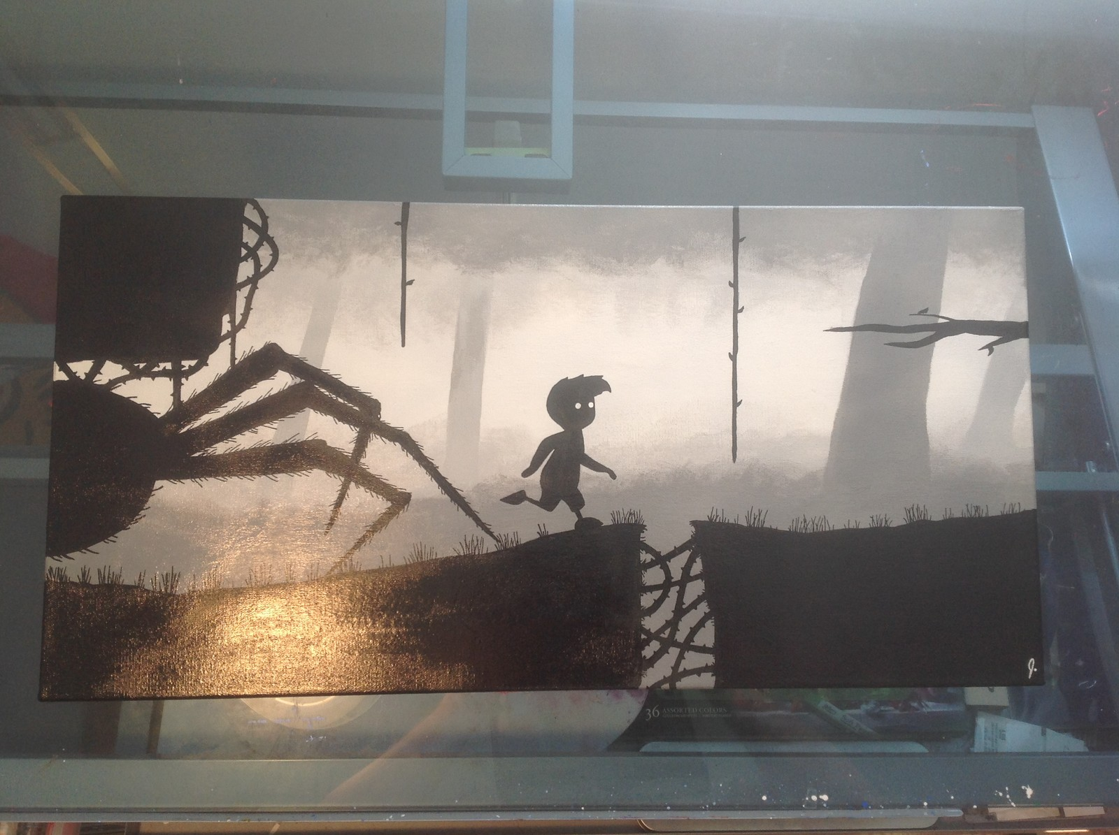 `Limbo` 12 x 24 canvas Status: Sold! (requested)