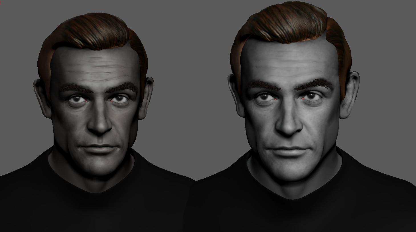Sean Connery as 007 WIP