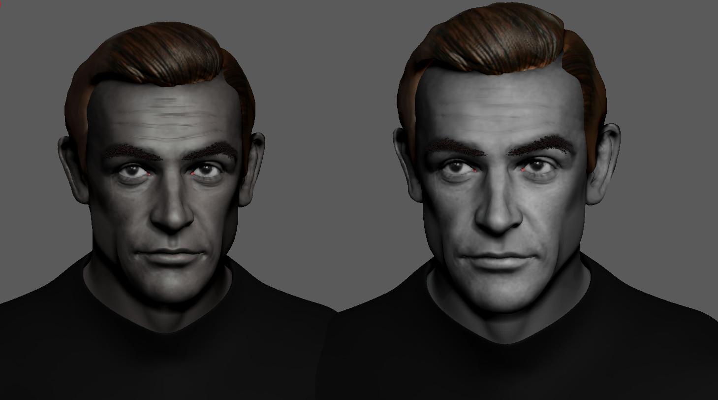 Sean Connery as 007 WIP