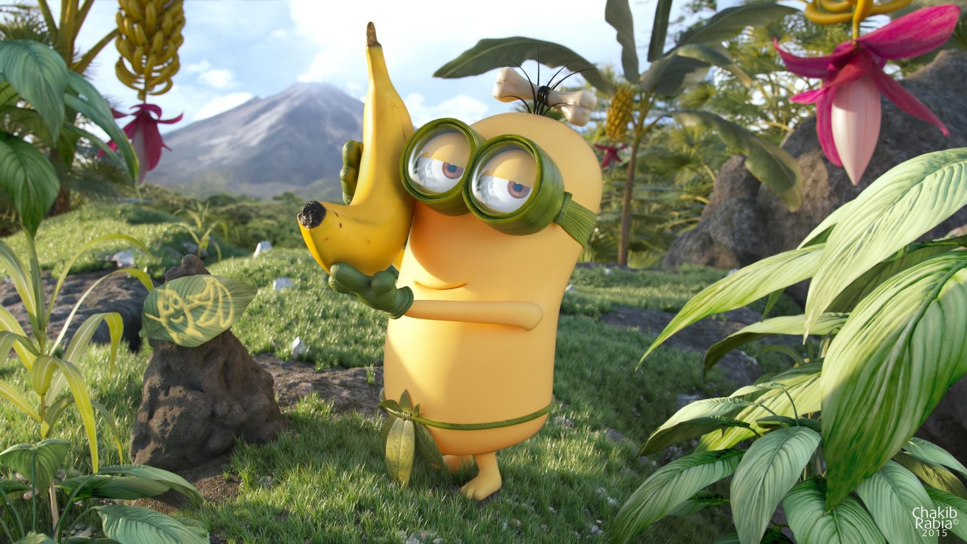 Hasil gambar untuk minions banana 2010
