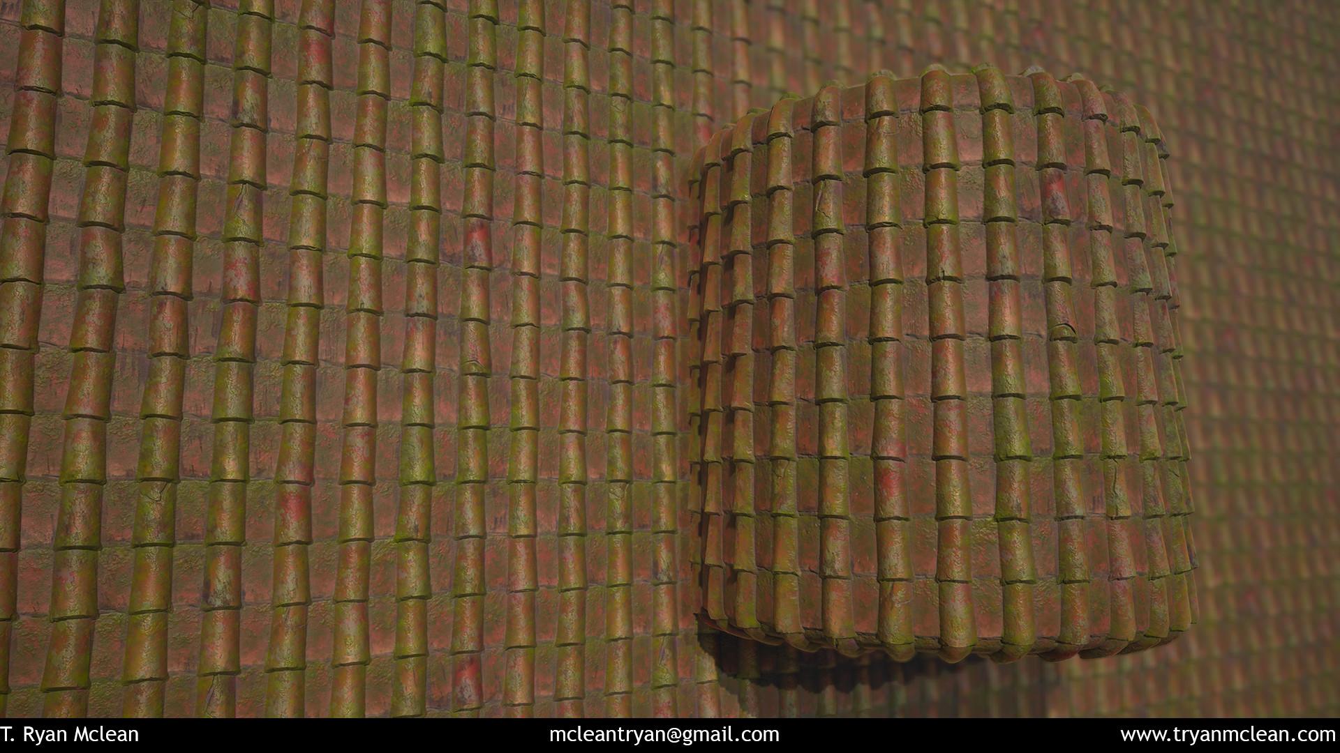 Terracotta Roof Mossy