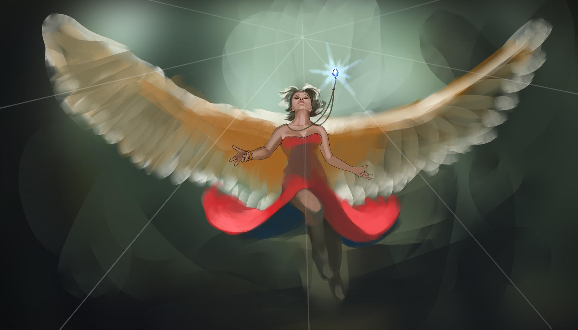 Eric geusz angel wip5
