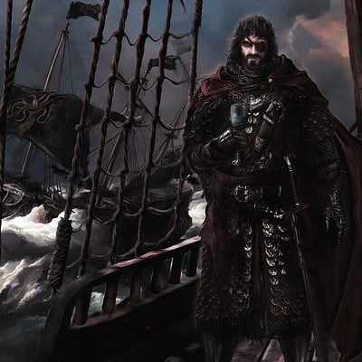 Mike hallstein king euron greyjoy by mike hallstein dalyaf1