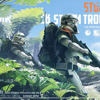 Siewhong lum death trooper sketch 05