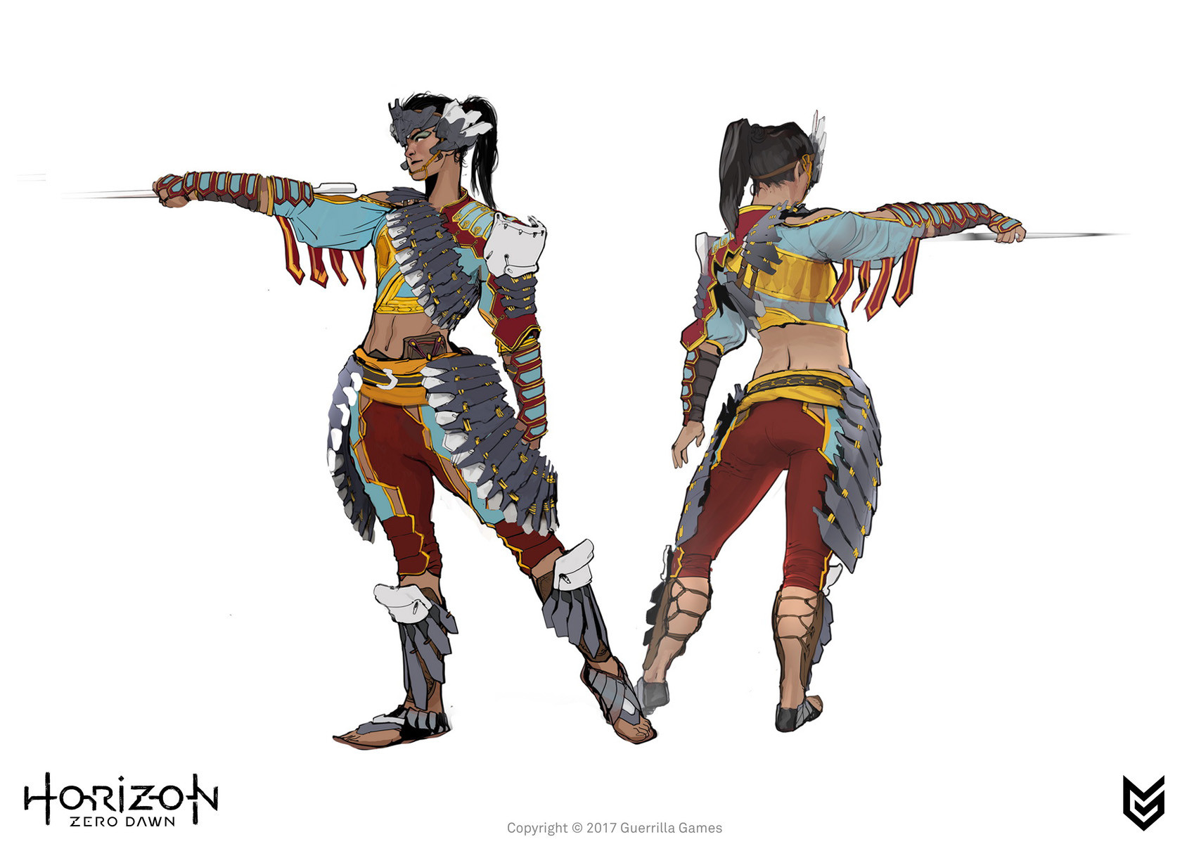 Artstation Horizon Zero Dawn Story Characters Concept