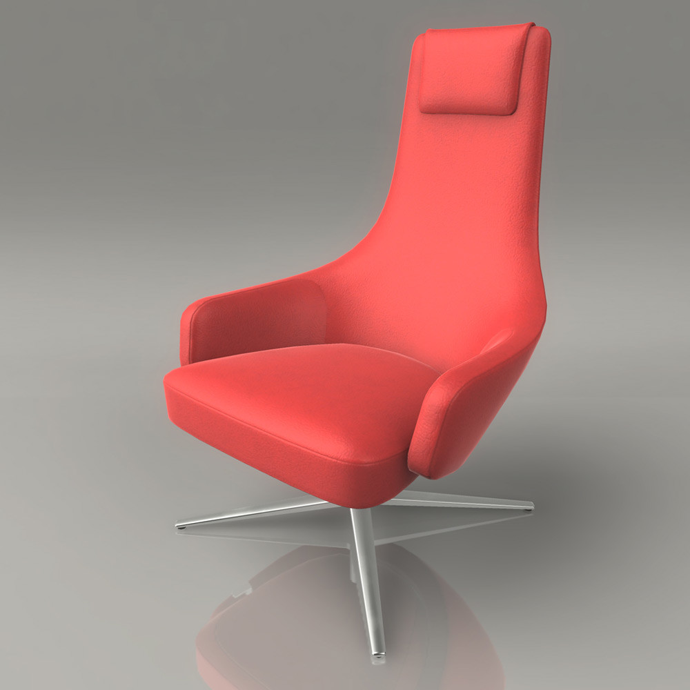 Jeremy h brown loungchair 01 front