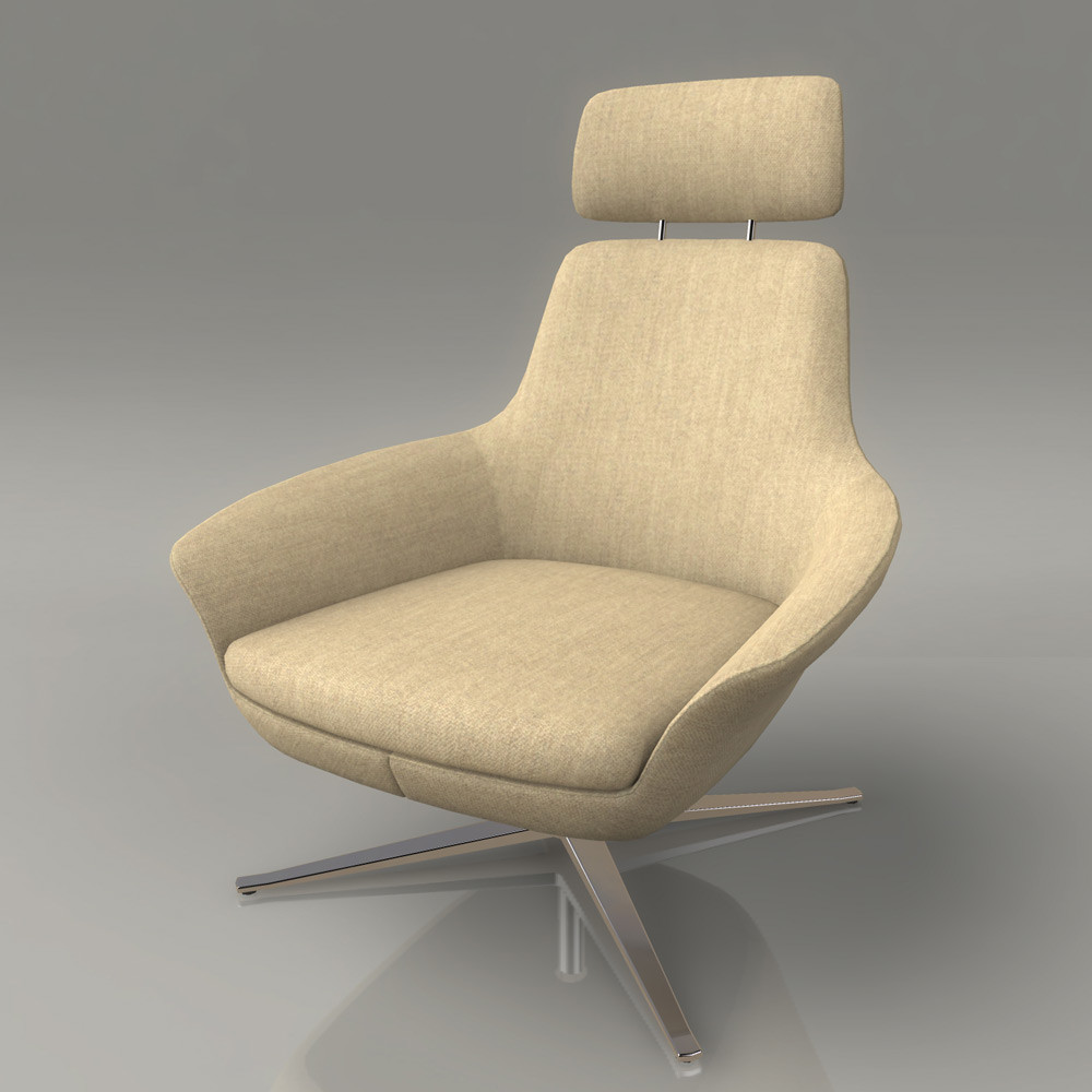 Jeremy h brown loungchair 02 front