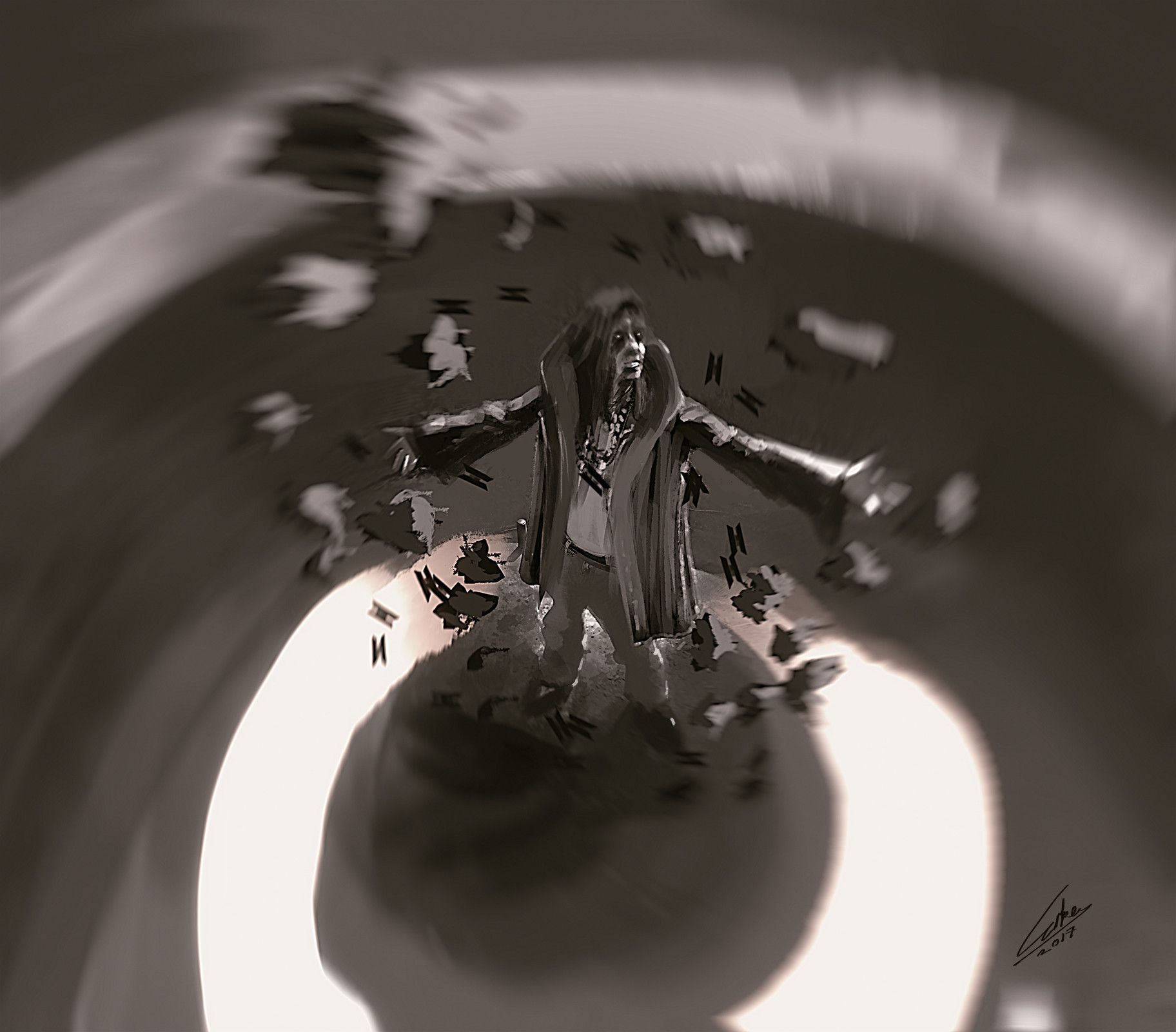 Bugra erke spitpaint antigravity april