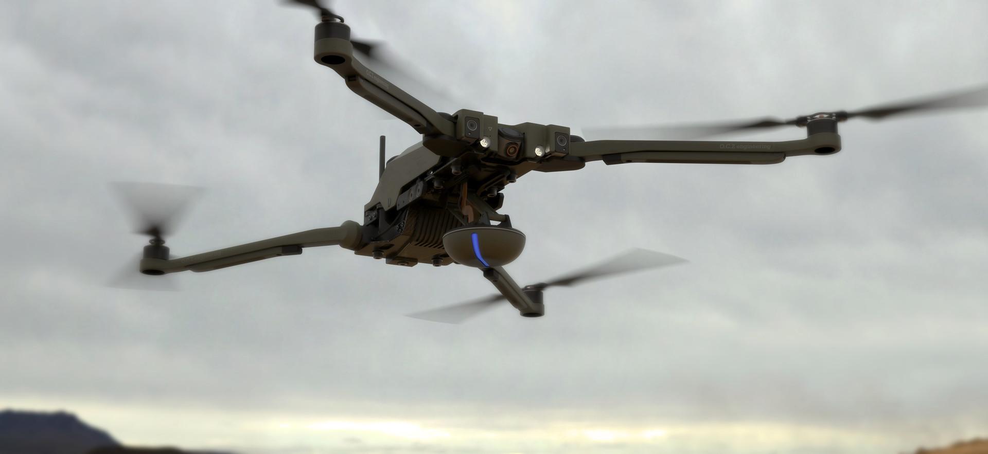 Jort van welbergen drone full shot