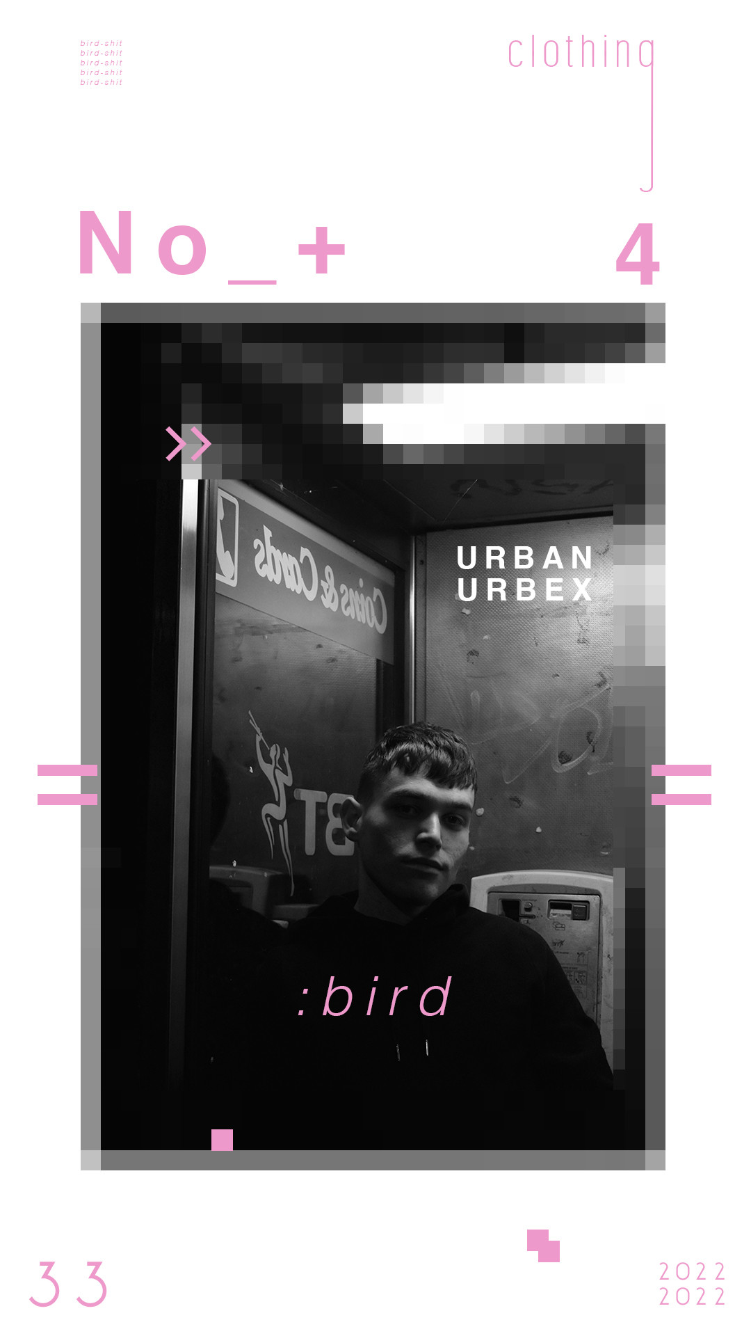 Lewis wagstx bird shit clothing poster