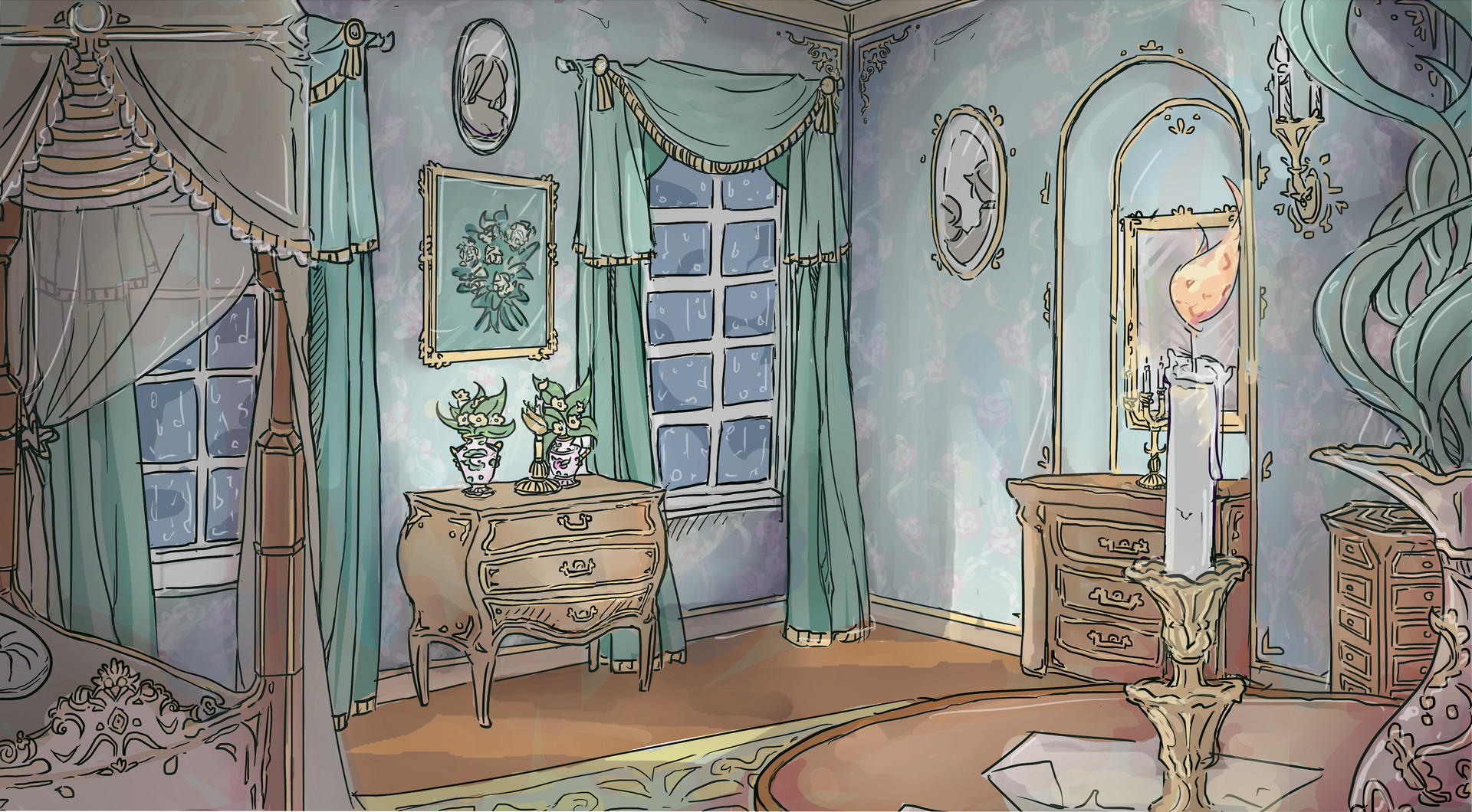 Excellent Sofia Persson Rococo Style Room Best Image Libraries Weasiibadanjobscom