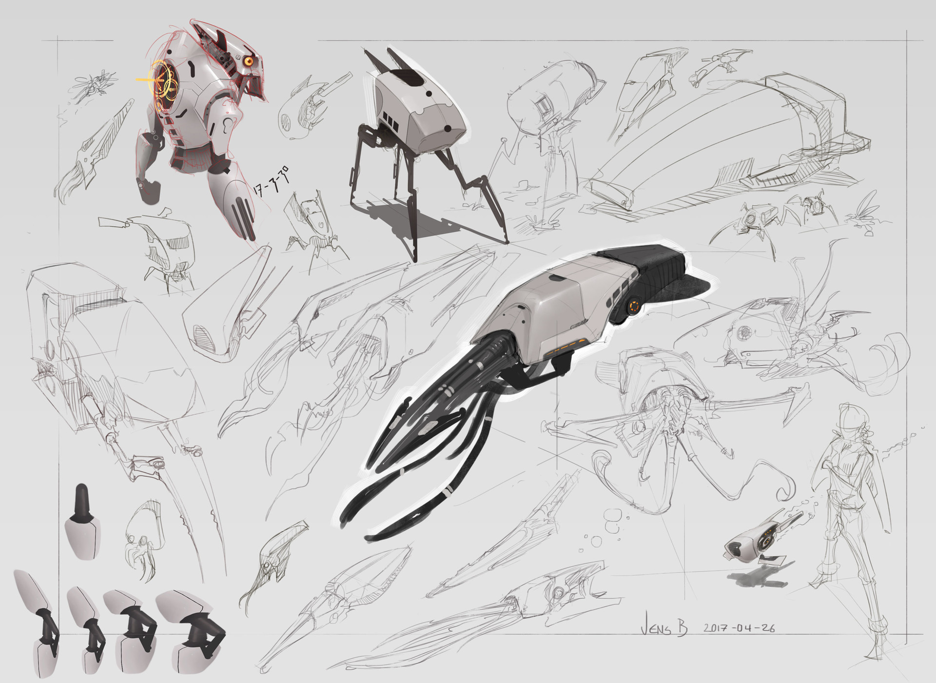 Jens bengtsson mechsketches