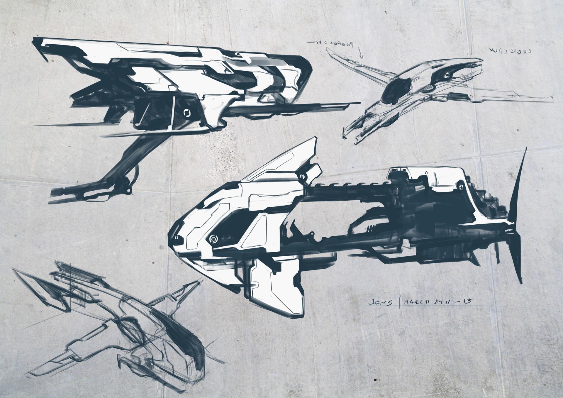 Jens bengtsson spaceships 01